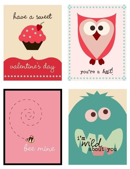 valentines cards free printable valentines day cards