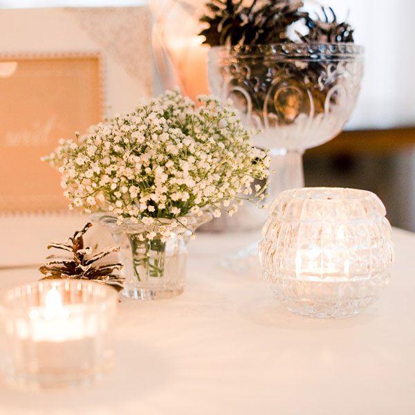 mariage-d-hiver-deco-de-table  Déco  Pinterest