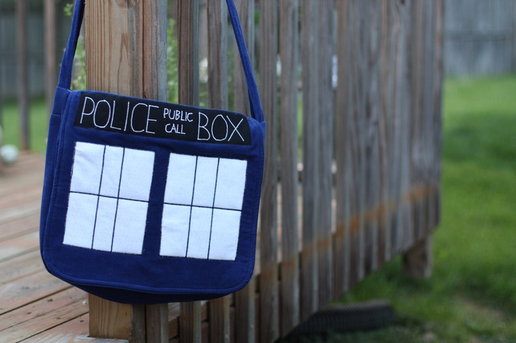 The Tardis by StayingInStitches on Etsy