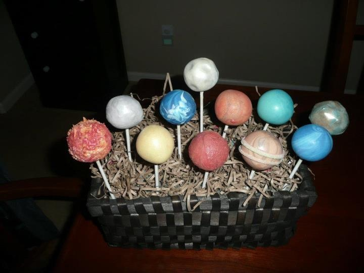 pop corn ball solar system - photo #4