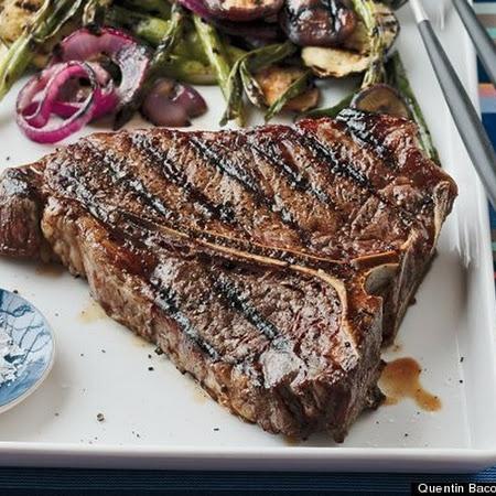 Balsamic and Rosemary-Marinated Florentine Steak Recipe