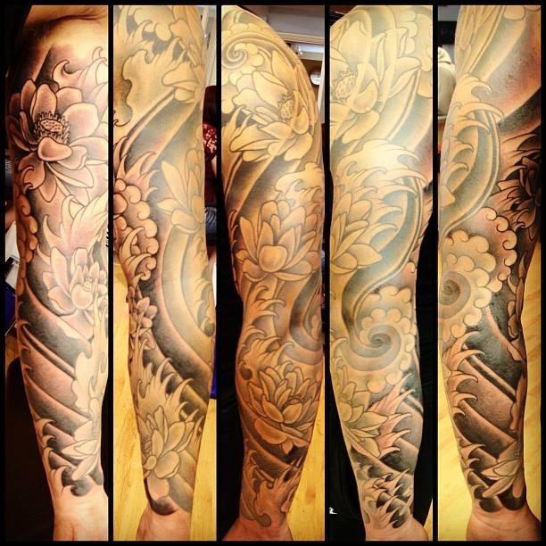 Tattoo sleeve.