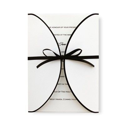 Wrapped With Love Wedding Invitations by TheAmericanWedding.com