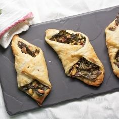 ... chard another go. Swiss Chard Turnovers With Parmesan And Pistachios