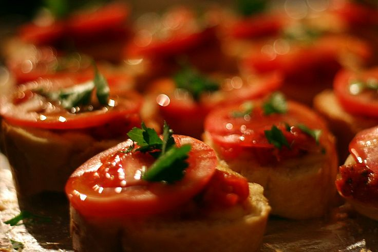 Slow-Roasted Cherry Tomato Bruschetta | Pin Your Recipes! | Pinterest
