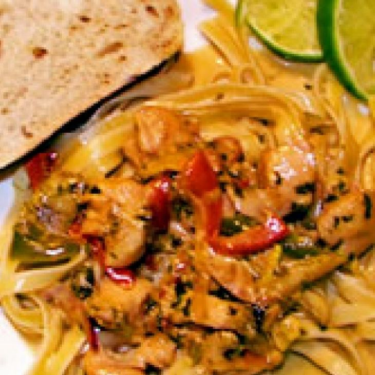Chicken Tequila Fettuccini Recipe | Recipes to try | Pinterest