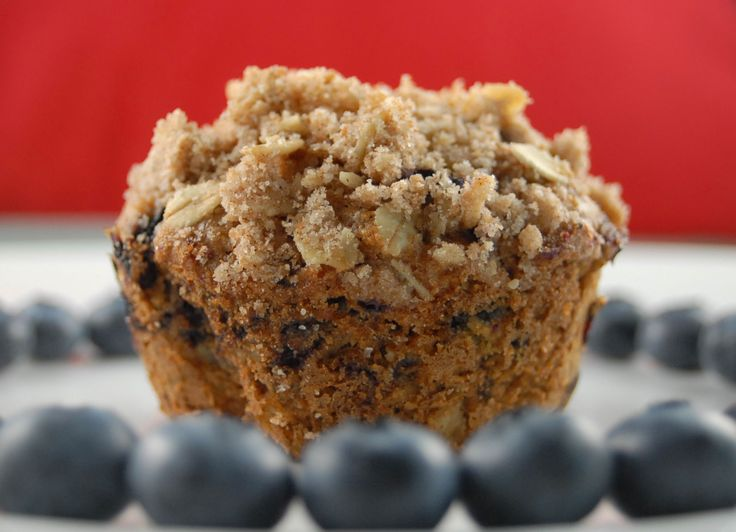 blueberry oat muffins | Muffins and CoffeeCakes | Pinterest