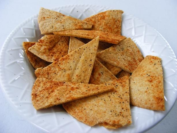 Homemade Baked Chips Tortilla Or Pita) Recipe - Food.com - 124908