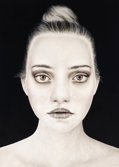 Portrait of Gemma Ward.