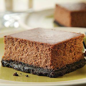 PHILADELPHIA Double-Chocolate Cheesecake | Recipe