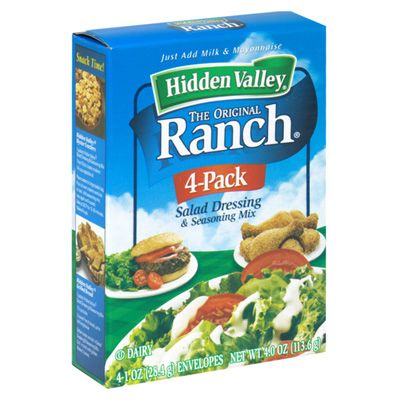 how to make hidden valley ranch dressing