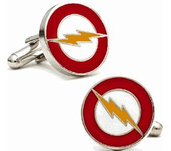 The Flash Logo Cufflinks