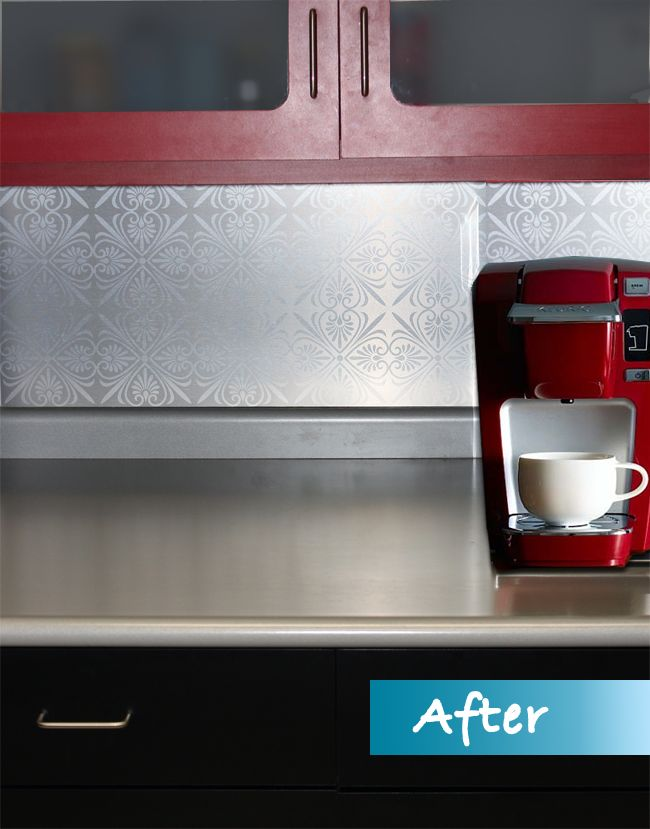 removable kitchen backsplash future home pinterest