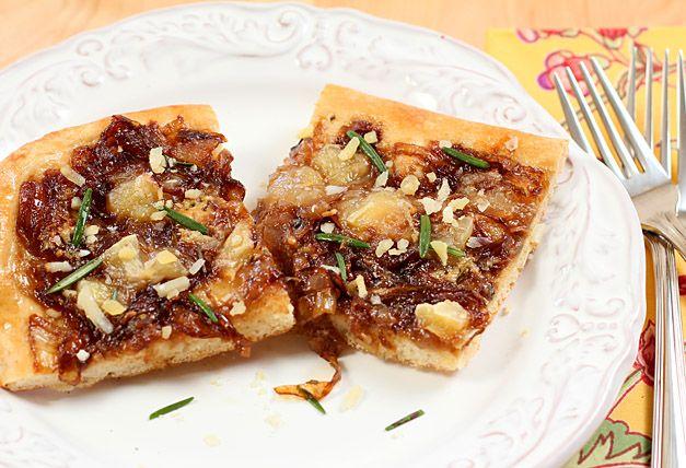 Cambozola Cheese and Caramelized Onion Pizza   Recipe