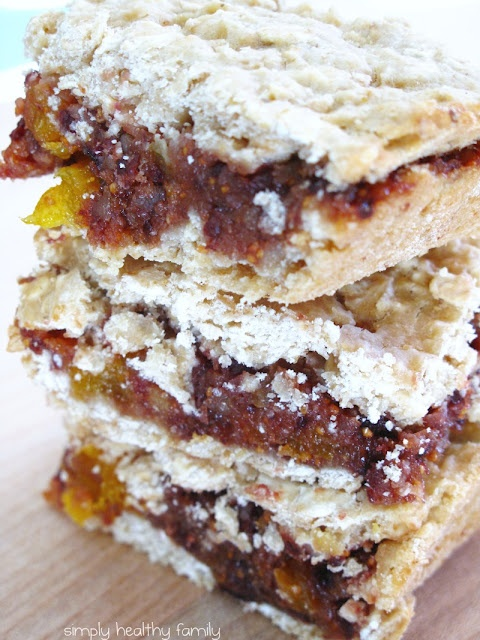 healthy homemade fig newtons! These were a favorite childhood treat!