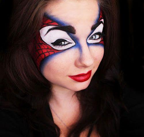 Superhero Makeup Super Hero Spider Man ...