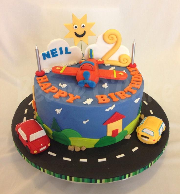 Cake Images Sonali : Wheels N Wings www.facebook.com/peace.o.cake.cakes ...