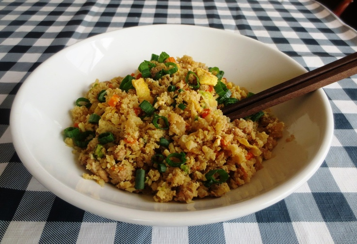 Cauliflower Fried Rice | Asian and Eastern Food | Pinterest