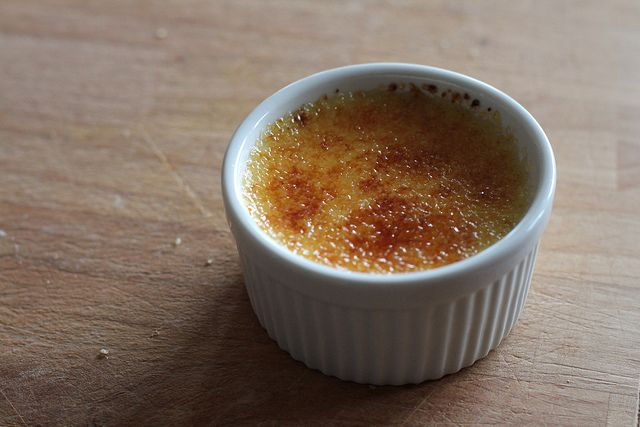vanilla bean creme brulee by themoveablefeasts, via Flickr
