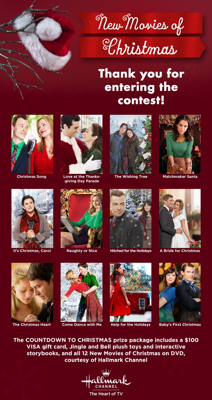 Hallmark 2012 holiday movies favorite movies tv shows for What channel are christmas movies on