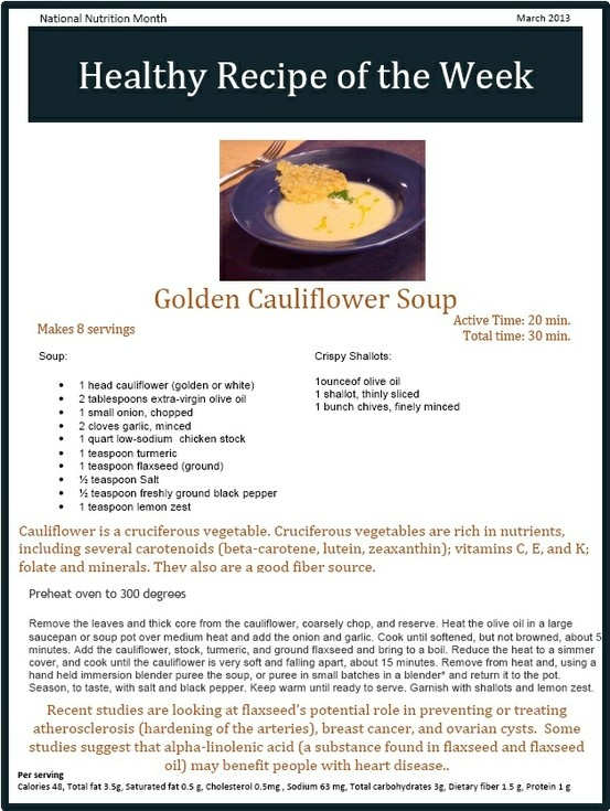 Golden Cauliflower Soup | Soup it up | Pinterest