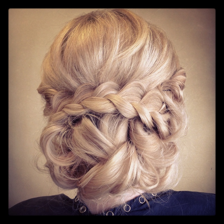 Bridal Braid Updo | Braids & Buns Wedding Hairstyle Trends | Pinterest
