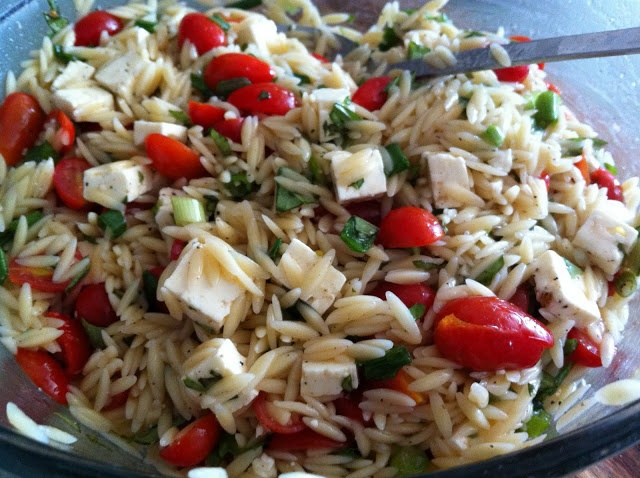 Orzo Caprese Salad | what's for supper? | Pinterest
