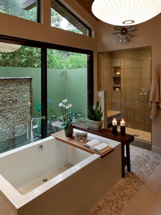 #OrangeCountyNewHomes modern bathroom design
