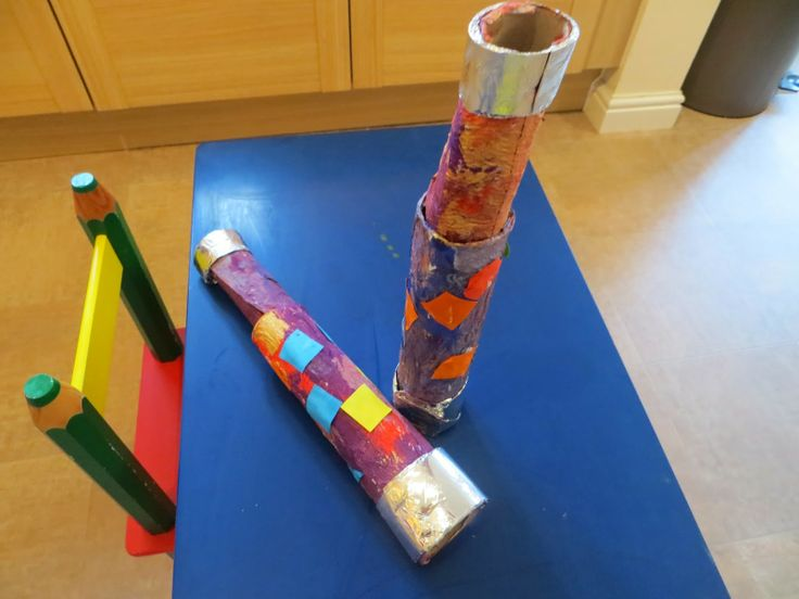 Pirate telescope toilet roll craft | Easy Toddler craft ...