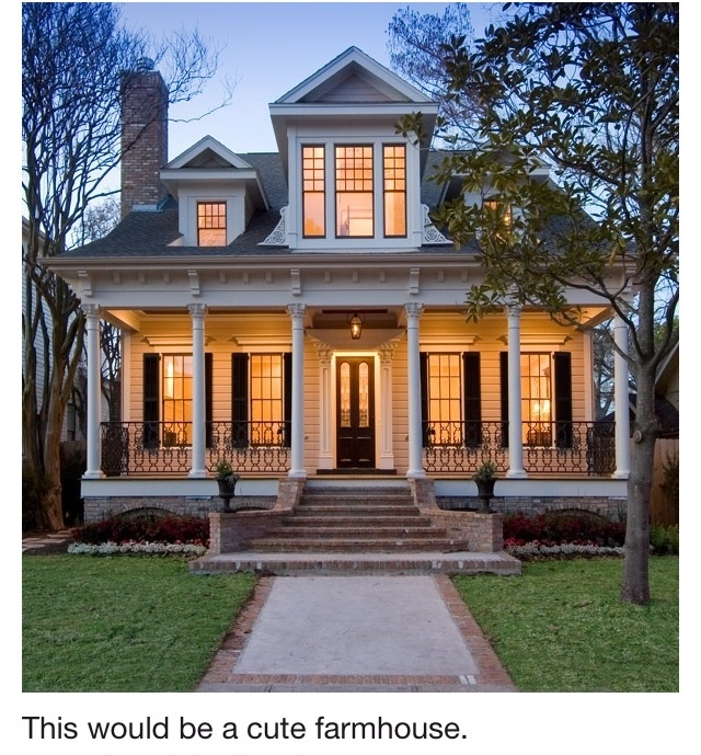 Farm house for the home pinterest for Farm houses with wrap around porches