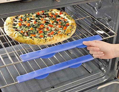 Silicone oven shield