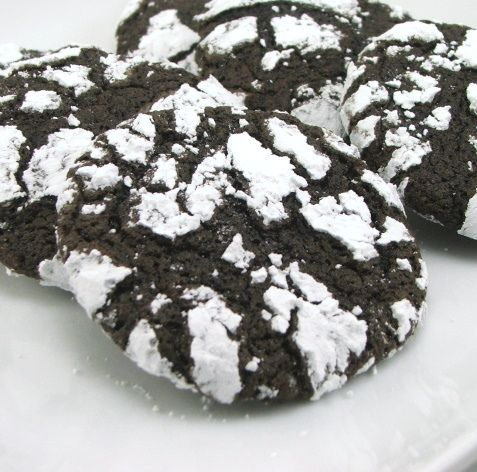 Spiced Chocolate Crinkles