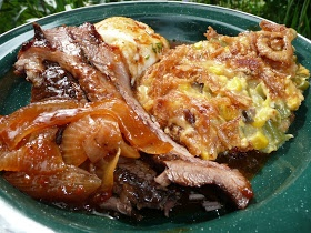 Everyday Dutch Oven: Holiday Brisket in Barbeque Sauce