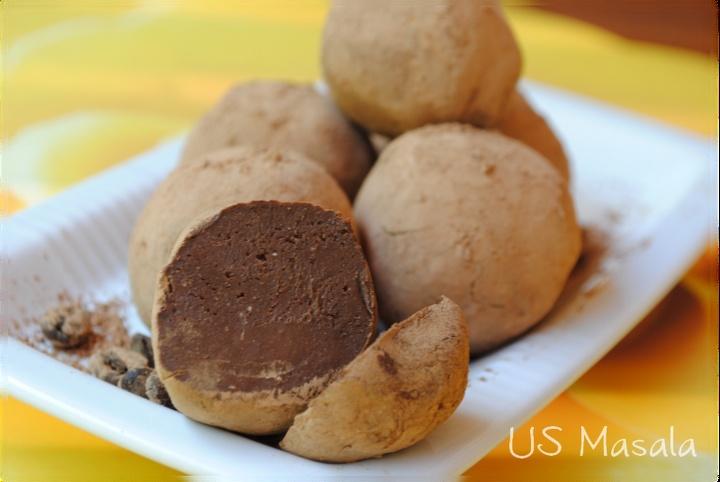 dark chocolate nutella truffles | Nom nom nom...yummy goodness | Pint ...