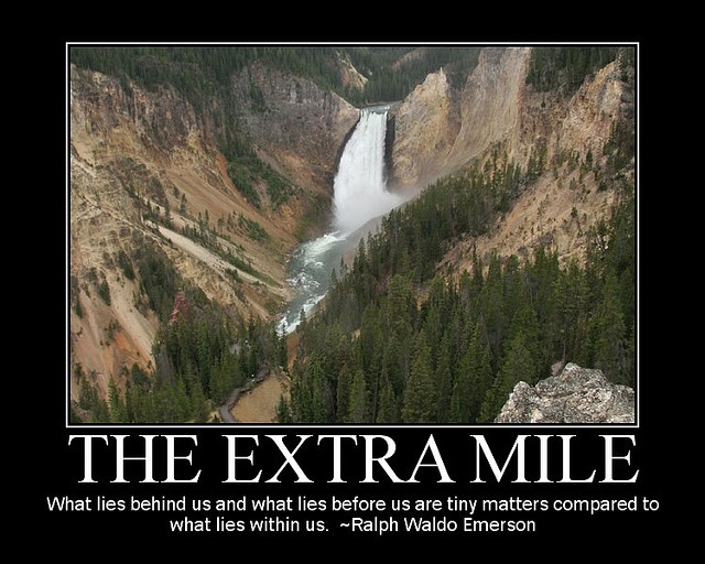 going the extra mile quotes quotesgram