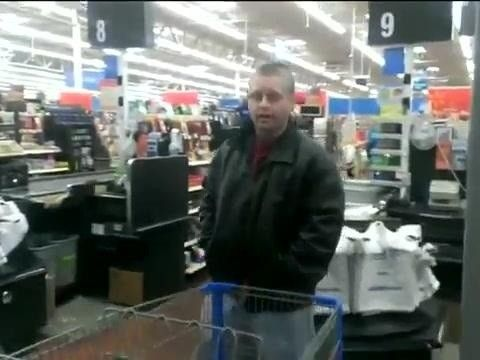 Masturbating Walmart Man Caught On Camera