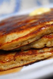 Sugar & Spice by Celeste: Edna Mae's Sour Cream Pancakes + Banana ...