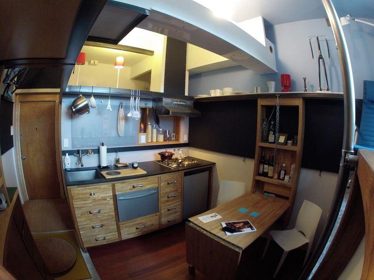 seattle micro apartment steve saur 2. Black Bedroom Furniture Sets. Home Design Ideas