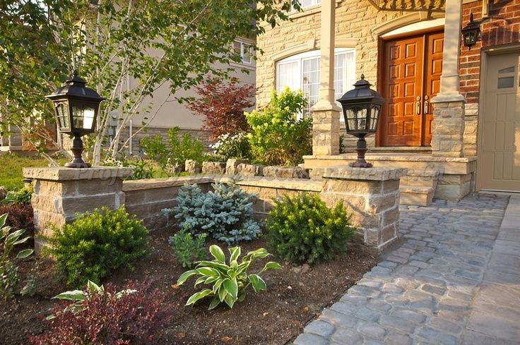 Landscaping Ideas By Front Door : Landscaping front garden ideas toronto