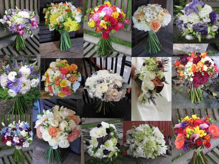 2012 Bouquet Collection Vermont Wedding Flowers Pinterest