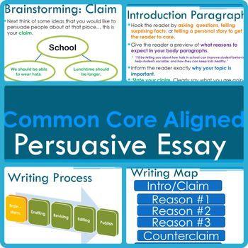 steps writing persuasive essay
