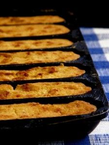 Cracklin Corn Pone Bread Recipe ( Eggless corn bread popular in the ...
