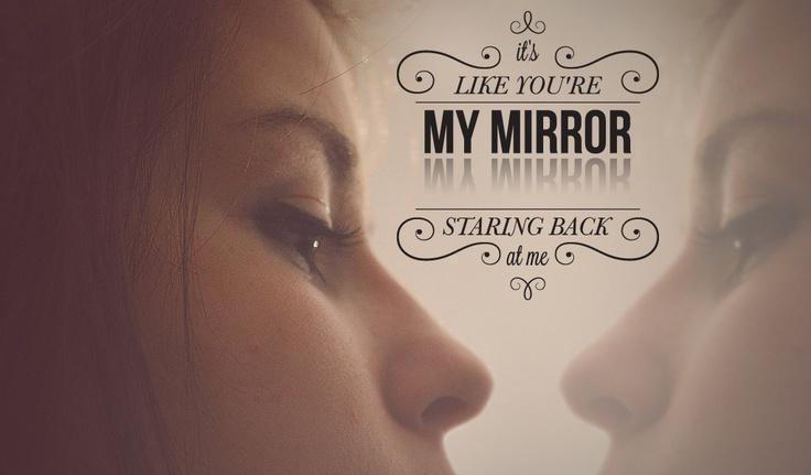 Mirrors justin timberlake lyrics pinterest for Mirror mirror lyrics