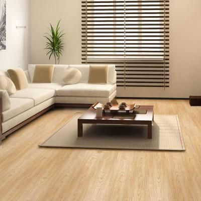 36 in. Muskoka Oak Resilient Vinyl Plank Flooring (24 sq. ft./case