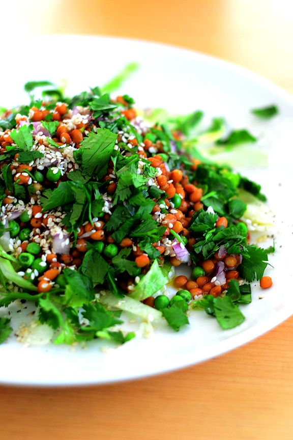 lentil salad. | edible | Pinterest
