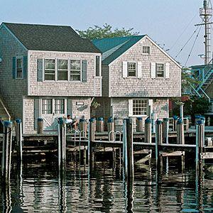 The Best Seaside Cottage Rentals | The Cottages & Lofts at the Boat Basin, Nantucket, Massachusetts | CoastalLiving.com