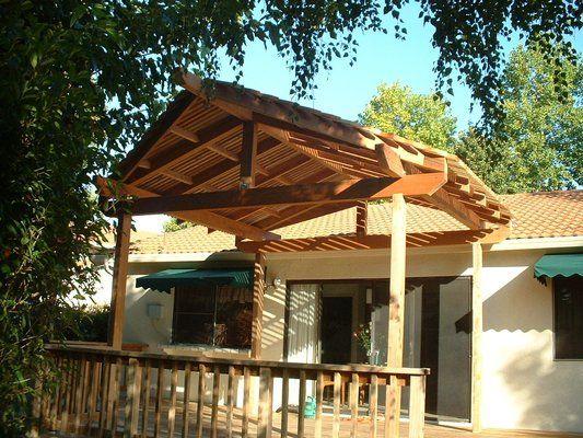 Patio covers joy studio design gallery best design for Redwood patio cover