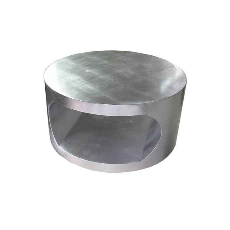Round Silver Coffee Table Small Furniture Pinterest