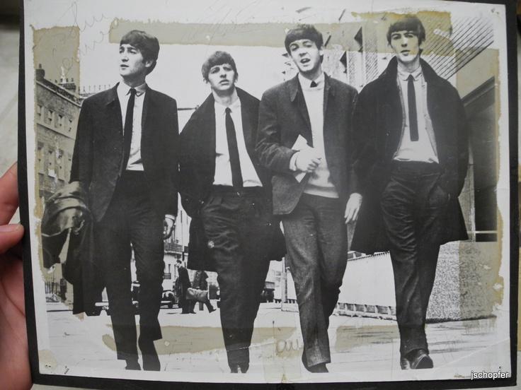 John, Ringo, Paul & George.