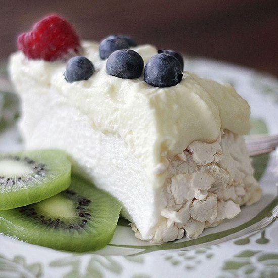 Pavlova with Summer Berries & Kiwifruit | Let Me Eat Cake | Pinterest